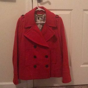 J.Crew Peacoat with Thinsulate